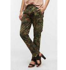 German army camo trousers pants military camouflage cargo combat flecktarn
