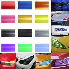 DCW Auto Car Smoke Fog Light Headlight Taillight Tint Vinyl Film Sheet Sticker