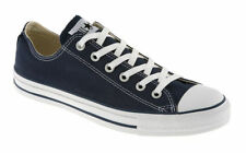 Herren Converse All Star Low MARINEBLAU Leinen Turnschuhe