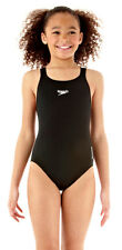 Speedo Junior Medalist Costume Intero Nero Endurance Plus Medio Gamba