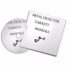 GARRETT METAL DETECTOR USER OWNER MANUALS  DETECTING FREE P+P