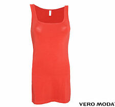 VERO MODA DAMEN SHIRT, TOP, OBERTEIL MAXI MY LONG TANK TOP NOOS GR. XS