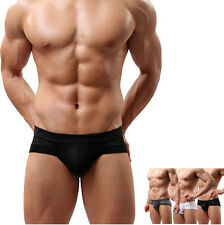 2016 Men's Sexy Cotton Underwear Solid boxers underpants Soft shorts Briefs