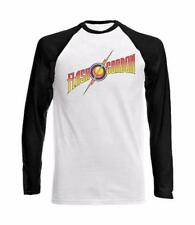 Long Sleeve Baseball T-Shirt with FLASH GORDON design - big bang theory movie