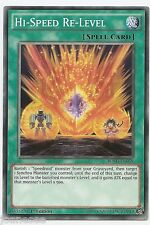 Hi-Speed Re-Level BOSH-EN058 Common Yu-Gi-Oh Card Mint 1st Edition New