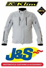 KLIM BLADE GORE TEX MOTORCYCLE JACKET GREY WATERPROOF ADVENTURE D3O PREMIUM J&S