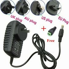 12V  2A 110-240V  AC DC POWER SUPPLY ADAPTER CHARGER FOR 3528/5050 LED Strip