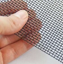 #8 x 0.7mm - Black Epoxy Steel Mesh- Various Size Options - Medium Heavy Mesh