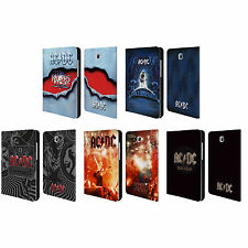 OFFICIAL AC/DC ACDC ALBUM ART LEATHER BOOK CASE FOR SAMSUNG GALAXY TABLETS