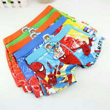 Boy Underwear Boxer Cotton Cartoon Children Panties Shorts Kids Accessories