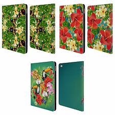 OFFICIAL MARK ASHKENAZI TROPICAL LEATHER BOOK WALLET CASE COVER FOR APPLE iPAD