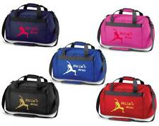 PERSONALISED PRINTED HOLDALL WITH YOGA DESIGN - bag mat pilates clothing