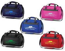 PERSONALISED PRINTED HOLDALL WITH ROWING DESIGN - gloves hat bag gear