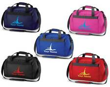 Personalised Printed Holdall with Ballet Design - leotard Bag skirts shoes BA9