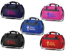 Personalised Printed Holdall with Ballet Design - leotard Bag skirts shoes BA6
