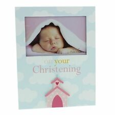 Christening Day Photo Frame Gift Girls 4 x 6 New Boxed TM114