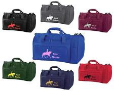 PERSONALISED PRINTED HOLDALL WITH HORSE DESIGN -bag pony boot Riding -  HO6