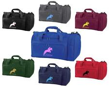 PERSONALISED PRINTED HOLDALL WITH HORSE DESIGN -bag pony boot Riding -  HO4