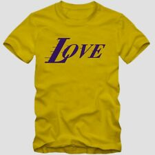 T-Shirt Lakers Los INSPIRED NBA Angeles LOVE Shirt Baketball Bryant S-XXL Kobe