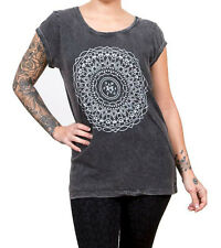 Bring Me The Horizon 'Kaleidoscope' Lavaggio Acido T-Shirt da donna - & OFFICIAL