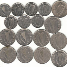 Irish Large & Small 5p Five Pence Coin's 1968 - 2000  COIN HUNT.
