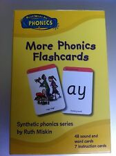"""Read Write Inc. """"More Phonics Flashcards"""" by Ruth Miskin"""