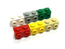LEGO 11211 1X2 Brick, Modified w Studs on 1 Side - Select Colour - FREE P&P!