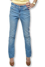 Jean femme coupe droite marque CHEFDEVILLE - Jean femme taille 37fr stone used