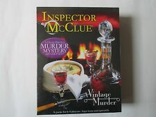 Inspector McClue Murder Mystery Dinner Game, New & Unopened.