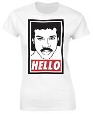 Lionel Richie Funny Hello Ladies T-Shirt