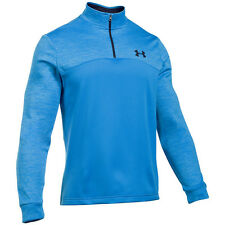Under Armour Coldgear Fleece Icon 1/4 Zip Sweatshirt brilliant blue 1286334-787
