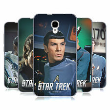 UFFICIALE STAR TREK SPOCK COVER MORBIDA IN GEL PER ALCATEL TELEFONI
