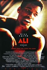 """""""Ali""""... Will Smith, John Voight... Biopic Movie Poster  A1A2A3A4Sizes"""