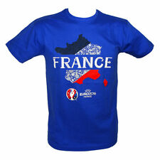 EURO 2016 - T-Shirt EURO 2016 France UEFA Officiel - Bleu