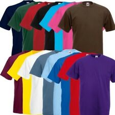 Fruit of the Loom Valueweight T camiseta cuello redondo hombre Talla S - XXL 10