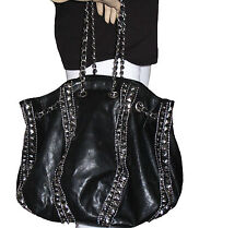 PIECES DAMEN TRAGE TASCHE UMHÄNGETASCHE, SHOPPER BAG DEE BLACK