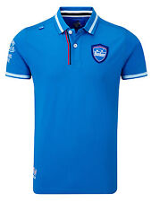 Bunker Mentality Mens Good For The Soul Clubhouse Polo - Bunker Blue RRP £50