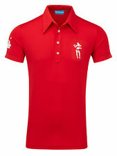 Bunker Mentality Mens CMax Kilo Polo - Red
