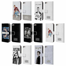 OFFICIAL JUSTIN BIEBER PURPOSE LEATHER BOOK WALLET CASE FOR APPLE iPOD TOUCH MP3