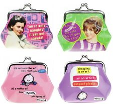 Humour PVC Coin Purse Clasp Fastener Vimrod or Retro Range - Ideal Gift