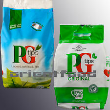PG Tips Loose Leaf Black Tea 1,5 kg PG Tips  Beute Bags 300 Schwarzer Tee Lose