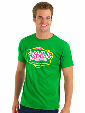 Bunker Mentality Mens Stella's Clubhouse T-Shirt - Kelly Green RRP £25
