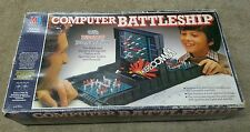COMPUTER BATTLESHIP BY MB GAMES ELECTRONIC GAME 80s VINTAGE RETRO INCOMPLETE