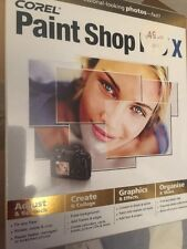 New Corel Paint Shop Pro X PC Graphics/Photo Editing Software Good For work!
