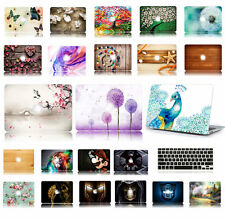 Printed Crystal hard case shell skin keyboard cover for Macbook Pro Air Retina
