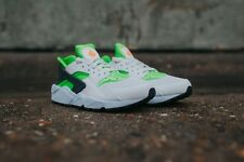 Nike Air Huarache Run Action Green Vivid Orange Phantom White 318429-304