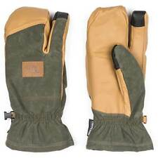 Quiksilver Trig Mittens Forest Night Green