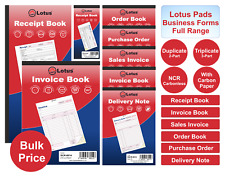 PUKKA PAD INVOICE/SALES INVOICE/DELIVERY/PURCHASE NOTE BOOK DUPLICATE/TRIPLICATE