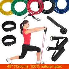 11 Set Resistance Exercise Bands Fitness Workout Yoga Crossfit Physio Tubes NHS