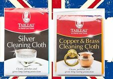 Tableau Silver Copper Brass Cleaning Cloth Duster Like Goddards Size 44x31cm